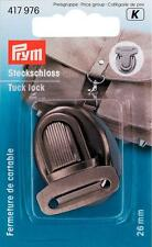 Prym Steckschloss altsilber 26 x 35 mm 417976