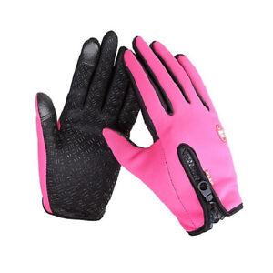 Waterproof Men's Women' Winter Ski Warm Motorcycle  Driving Gloves Hot