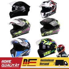 Motorradhelm Integralhelm  Sturzhelm Helm Volles Gesicht Rollerhelm M/L/XL/XXL