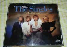 Abba The Singles First Ten Years West Germany Blue Polar 1983 CD No Barcode - Ex