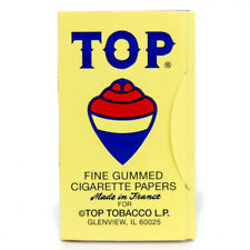 1 Pack Top 70 mm RYO Cigarette Tobacco Rolling Papers 100 Leaves 2127