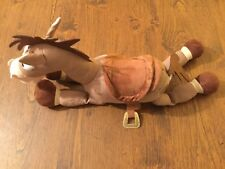 Andy & Woody's Horse Bullseye Plush Toy Story Disney Store Authentic Patch EUC