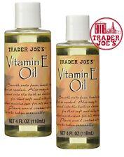 X2 OIL Trader Joe's Vitamin E Oil 24000 IU 4oz Moisturizer All Skin & Face Body