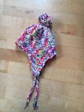Wintermütze gestrickt, H&M, mit Bommel für Mädchen, Größe 104/116, 3-6 Y
