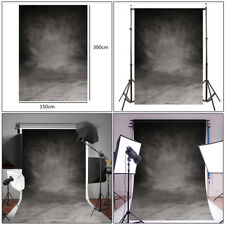 Retro Grey Cloth Backdrop Photography Studio Props Photo Background 150x300cm