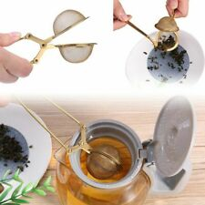 Tea Infuser Stainless Steel Handle Ball Sphere Strainer Teapot Powder Sieve Tool