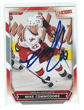 Mike Commodore Signed 2007/08 Victory Card #267