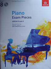 Piano Exam Pieces from 2013 & 2014 ABRSM Grade 8 Book & CDs B31