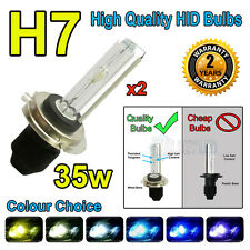 H7 10,000k 10k HID 35w Replacment Bulbs AC Xenon Metal Base Headlight Uk Seller