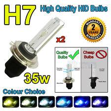 H7C 6000k HID LAMPADINE 35w Replacment AC Xenon base in metallo PER FARI UK venditore 6k