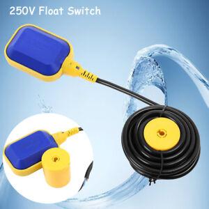 Float Switch Liquid Fluid Water Level Sensor Pump Tank Pond Controller 10m Cable