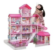More details for doll house 4 storey mansion with 305 accessories
