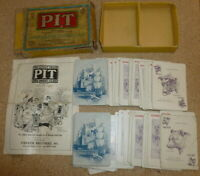 Vintage Parker Brothers PIT Bull & Bear Edition Card Game rare box version