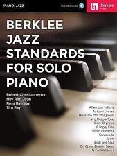 Berklee Jazz Standards For Solo Piano (Berklee Press - Book & Audio Access)