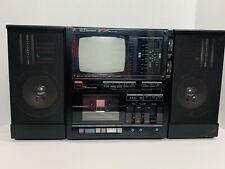 Vintage Emerson XLC-556 Portable TV & AM/FM Radio Cassette Player **Tested!**