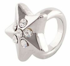 Silver Star Bead Charm For Endless Story Bracelet Interchangeable Jewelry