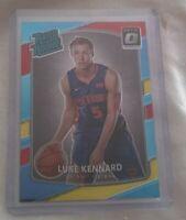 LUKE KENNARD Detroit Pistons 2017-2018 Panini Donruss OPTIC RATED ROOKIE #189.
