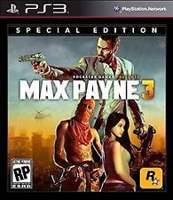 New Max Payne 3 (Special Edition) Sony PlayStation 3, PS3