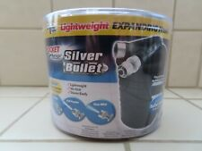 New listing Silver Bullet Pocket Expanding Hose 50ft x ¾� With Bonus Spray Nozzle – New!