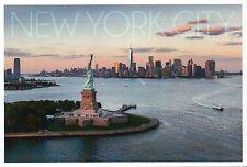 New York City Statue of Liberty One World Trade Center etc. NY - Modern Postcard