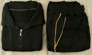 "SINGAPORE AIRLINES First Class by ""Givenchy"" Loungewear Pajama Large Black"