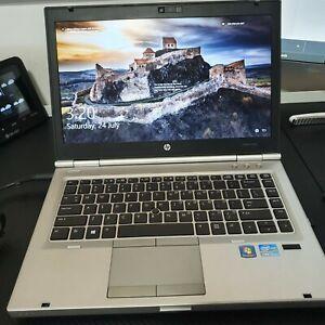 HP EliteBook 8470P Intel i5-3320M 2.60Gz 8GB RAM 128GB SSD Win10 Pro New Battery