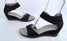 NEW! Paul Green- 'Tammy' Open Toe Wedge Sandals  -Black-Size US 9.5/EU 7(J4)