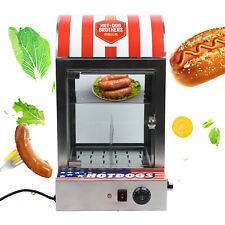 1500w Electric Hot Dog Steamer Heating Machine Bun Sausage Warmer 30 110 110v