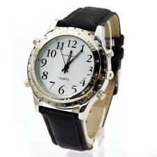 New Digital Luxury Electronic Wristwatch English Talking Watch Voice Watch GA