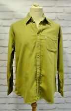 Barbour men's khaki green shirt size XL