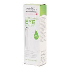 Derma V10 Revitalising Eye Roll On 15ml | Cucumber Extract | **FREE POST**