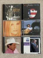 Lot of 6 Country CDs - Randy Travis, Travis Tritt, George Strait, Kenny Rogers