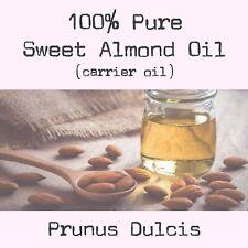 100% Organic Sweet Almond Oil (Prunus Dulcis) 100ml Cold Pressed
