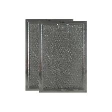 """COMPATIBLE WB06X10654 MICROWAVE MESH GREASE FILTERS  5"""" x 7-5/8"""" x 3/32"""" 2-PK"""