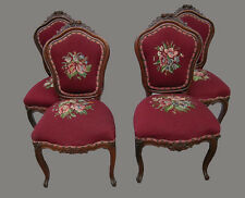 19TH CENTURY ROSEWOOD ROCOCO DINING CHAIRS