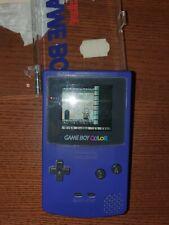 Nintendo Game Boy Color - Lila + 4 Spiele