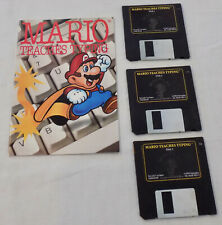 Mario Teaches Typing MacPlay Games Macintosh Floppy Discs Vintage Computer