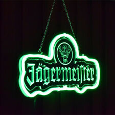 Jagermeister Neon Signs Beer Bar Pub Party Homeroom Windows Decor Light For Gift