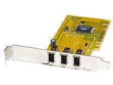 Trust 3 Port IEEE1394 Firewire PCI Desktop PC Host Controller Card/Karte 12824
