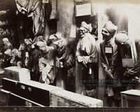 1895 Vintage Photo SKELETONS IN CONVENT CATACOMBS * Bizarre Odd Strange Creepy