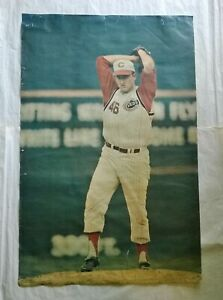 1968 JIM MALONEY Sports Illustrated 24x36 POSTER With Repairs CINCINNATI REDS