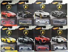 2017 Hot Wheels: LAMBORGHINI - Walmart Exclusive - COMPLETE 8 Car Set - NEW