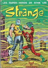 RARE EO 5 JUIN 1971 STAN LEE + COLLECTIF REVUE STRANGE N° 18 ( BON ÉTAT   )