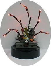 Nightmare before Christmas Wedding Cake topper Sally Jack DISNEY Halloween LED P