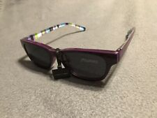 New Polarized Readers Glasses Magnetic Sun Clips +1.50 Purple Frames