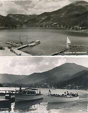 2 Karten vom Erlaufsee, Steiermark   (C55)
