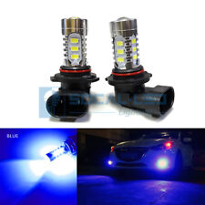 2x Dark Blue HB4 9006 LED Bulbs 15W SMD 5730 High Bright Fog Light DRL Projector