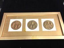 Set of -Apollo 14 & 15 & 16 Medal Coin - 3 Pieces
