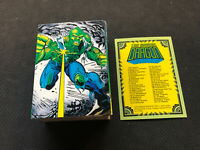 1992 COMIC IMAGES ERIK LARSEN THE SAVAGE DRAGON COMPLETE (90) CARD SET