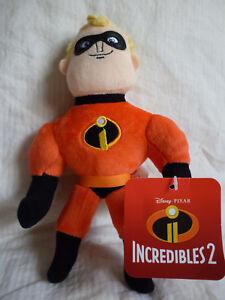 DisneyPixar- Incredibles 2 Movie MR INCREDIBLE  Soft Plush Doll Toy 29cm tallNEW